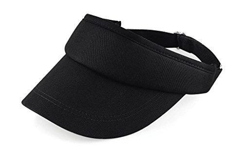 Beechfield Beechfield Unisex Unisex Sport Visor Cap B41 Black One Size