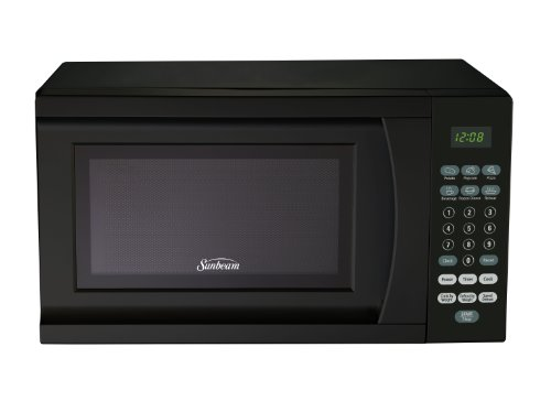 Sunbeam SGS90701B-B 0.7-Cubic Foot Microwave Oven, Black