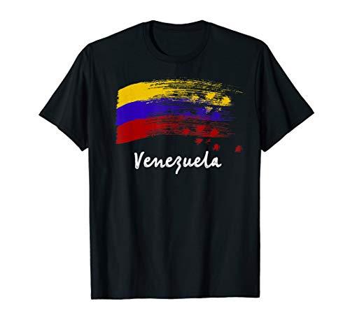 Venezuela 7 Star Flag Trikot Fußball Franela Venezuela T-Shirt