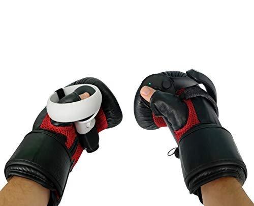 DeadEyeVR Ultimate Boxing Gloves - Boxing Mitts for Oculus Quest and Rift S for Virtual Reality Thrill of The Fight BoxVR