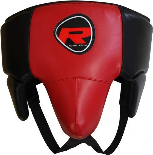 RDZG7294 RDX ノーファウルカップ 赤 ボクシング MMA UFC 各サイズ (XLサイズ)