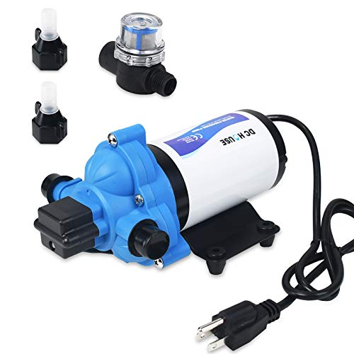 DC HOUSE 33-Series Industrial Water Pressure Pump, 115V 3.3...