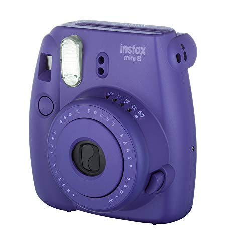 Fujifilm Instax Mini 8 Instant Film Camera (Grape) (Discontinued by Manufacturer)