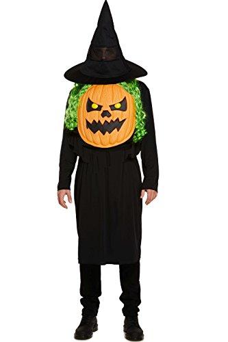 Calabaza con Gigante Cara Disfraz de Halloween Adulto Hombre Mujer Disfraz