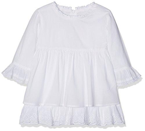 La Ormiga Mädchen 1720260318 Bluse, weiß, 6 Jahre