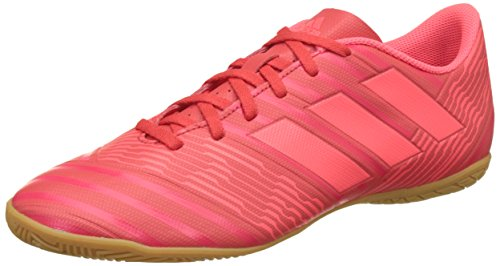 Adidas Nemeziz Tango 17.4 Voetbalschoenen, heren, zwart/neonrood