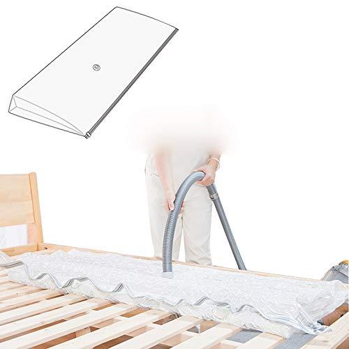 Vacuum tas for Memory Foam Geforceerd Mattress Toppers En Pads Pers Space Saver Vacuum Storage Solution Vacuümzak Om beschermt matrassen, kleding, kussens, dekbedden, dekbedden, dekens
