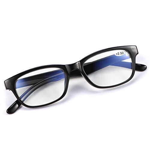 Occhiali da Lettura Multifocali Progressivi Presbiopia Blocco Luce Blu Anti UV Antiriflesso da Uomo e Donna Leggero Occhiali Computer Glasses Anti Affaticamento degli Occhi Lettori Unisex Bicchieri