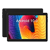 Tablet 10 inch Android Tablet, Android 10.0 Tablet Quad-Core Processor 32GB Storage Tablet Computer, 2GB RAM, 8MP Camera, Long Battery Life, Black