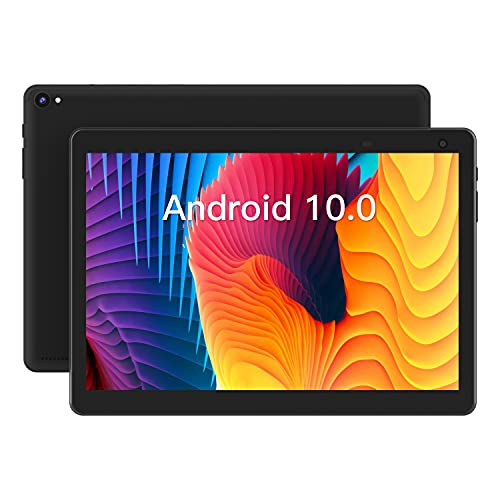 Tablet 10 inch Android Tablet, Android 10.0 Tablet Quad-Core Processor 32GB Storage Tablet Computer, 2GB RAM, 8MP Camera, Long Battery Life (Black)
