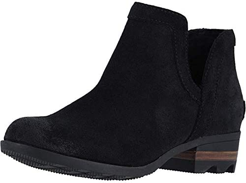 SOREL Lolla Ranking TOP6 At the price of surprise Cut-Out Black Bootie Suede