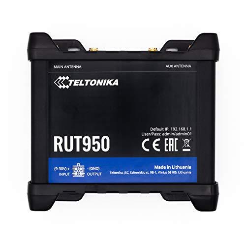 Teltonika RUT950 Negro Equipo de Red 3G UMTS - Dispositivo de Internet...
