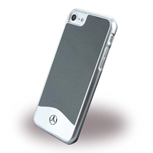 Mercedes Glossy PC con Effetto Metallizzato Plus Custodia Rigida Protettiva in Alluminio Spazzolato per Apple iPhone 7