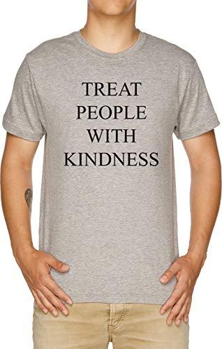 Treat People with Kindness Herren T-Shirt Grau
