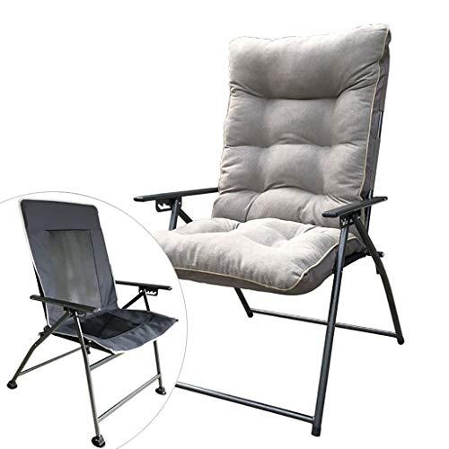 Chaises Longues Chaise Longue Canapé Paresseux Arrière Bureau Balcon Pause-déjeuner Hiver Et Eté Double Usage 4 Couleurs (Couleur : B)