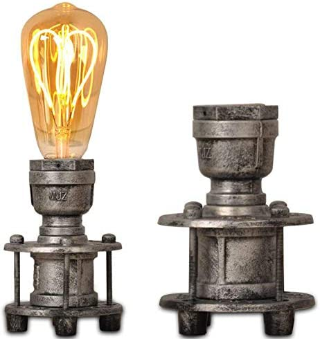 Vintage Industrial Table Lamp Base Steampun Superior E26 Edison Many popular brands for Bulb