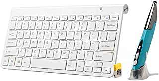 WYAN AE KM-909 2.4GHz Wireless Multimedia Keyboard + Wireless Optical Pen Mouse with USB Receiver Set for Computer PC Lapt...