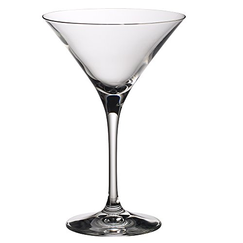 Villeroy & Boch Purismo Bar Cocktail-/Martiniglas 2er-Set, Kristallglas, durchsichtig, 175mm, 2