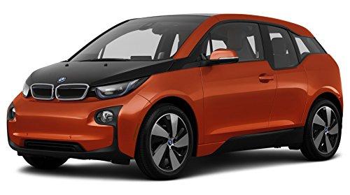 2014 BMW i3, 4-Door Hatchback w/Range Extender, Solar Orange Metallic w/Frozen Gray Accent