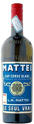 L.N. Mattei Cap Corse Blanc Aperitif au Quinquina LE SEUL VRAI (1 x 0.75 l)