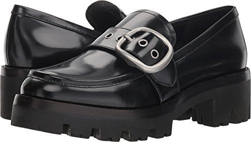 COACH Grand Lug Sole Loafer Black Cordovan 5.5
