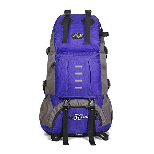 alpinisme en plein air sac à dos hommes et les femmes sac de voyage camping randonnée à dos 50L