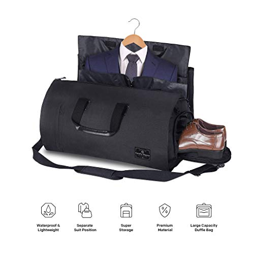 ComfyDegree Travel Garment Storage Bag, Carry on Convertible Multipurpose...