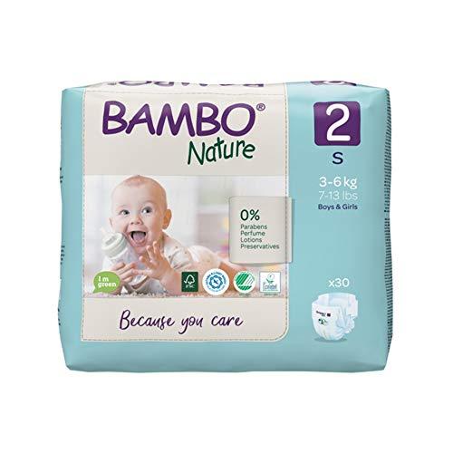Bambo Nature - Pañales pequeños, 710 g