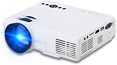 "$49 » Projector(2019 Upgraded) XINDA 2000 Lumens Video Projector with 170"" Display 50,000 Hours LED Full HD Video Projector,Compatible with HDMI, VGA, USB, AV, SD for Home Theater …"