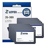 LEVEN 120GB SSD 3D NAND TLC SATAIII 6GB / s, 2.5'/ 7mm (0.28') Unidad de Estado sólido Interna, hasta 550 MB/s - Minorista con 10 Piezas -...