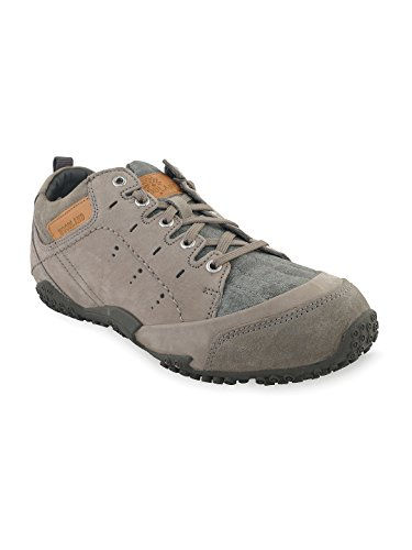 Woodland Leather Men's Casual Lgrey Sneaker Shoes