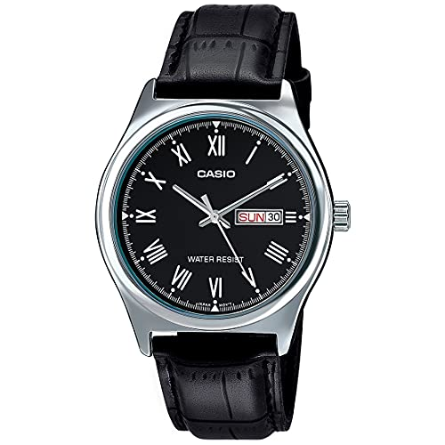 Casio Reloj con Movimiento japonés MTP+V006L.1B 38 mm