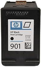 HP 901 Black Officejet Ink Cartridge - Cartucho de tinta para impresoras (Negro, 200 páginas, Inyección de tinta, 11,6 cm, 3,6 cm, 11,5 cm) No