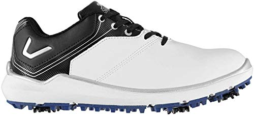 Slazenger Herren V300 Golfschuhe Soft Spikes Weiß 43