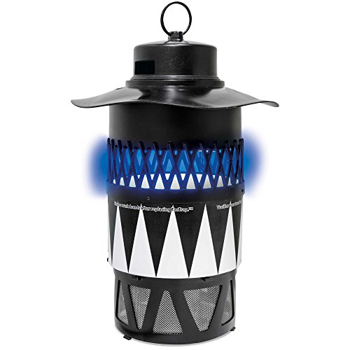 Blue Rhino Bite-Guard Insect Trap - SkeeterVac Electric 120 Volt Mosquito Trap with OneBait Insect Lure Trap - Traps Biting Insects 7 Different Ways - Covers ½ Acres