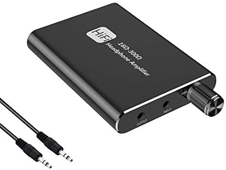 Headphone Amplifier Portable HiFi Headphone amp 3 5mm Stereo Audio Out Support Impedance 16 product image