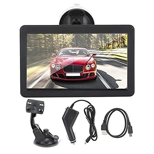 GXXDM Navegador del Coche, navegador GPS portátil del Taxi del camión del Coche de 7inch HD para Windows CE 6.0