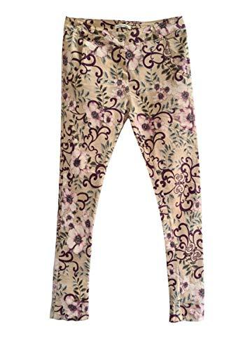 HEIMATLIEBE Damen Geblümte Colourdenim Jeans