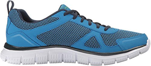Skechers Track BUCOLO Sportschuhe/Laufschuhe in Übergrößen Blau 52630/BLLM große Herrenschuhe, Größe:47.5