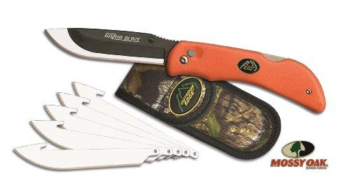 OUTDOOR EDGE Razor with 6 Blade, Blaze Orange
