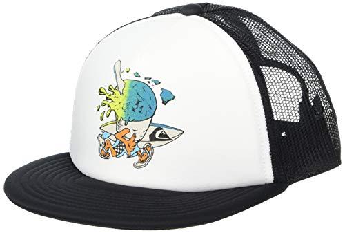 Quiksilver HI SNOCONE Boy Hat Gorra de béisbol, Blanco, Talla única para...