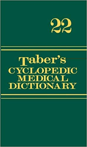 [080362977X] [9780803629776] Taber's Cyclopedic Medical Dictionary (Thumb-indexed Version) 22nd Edition-Hardcover