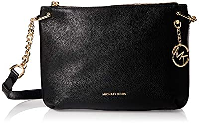 Michael Kors Lillie Pebble Leather Crossbody BLACK