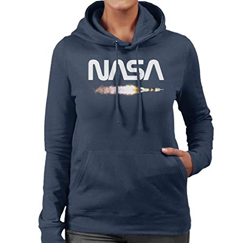 Nasa Soyuz Launch Logo Women's Hooded Sweatshirt