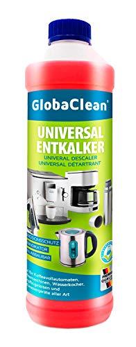 GlobaClean® Entkalker für Kaffeevollautomaten 750ml | Kaffeemaschinen | Wasserkocher | Hochwertige Pflegeformel | Perfekt für die Werterhaltung der Kaffeemaschine | Made in Germany