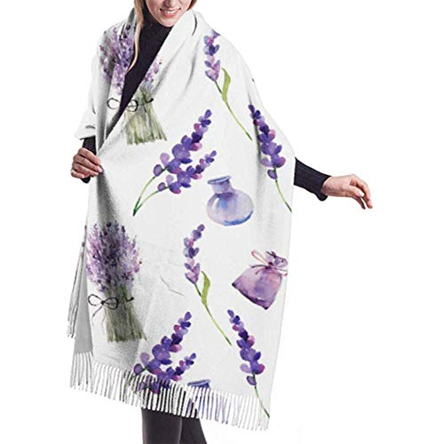 Laglacefond wintersjaal-kasjmier-gevoel versiering wilde bloemen, de uitnodigings-sjaal-verpakkingen voor bruiloften zijn zacht, warm plafond.