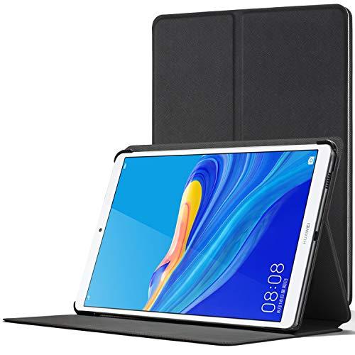 Forefront Cases Smart Funda para Huawei Mediapad M6 8.4, Estuche Protector con Cierre Magnético para Mediapad M6 8.4 2019, Smart Auto Sueño Estela Función Caso, Negro