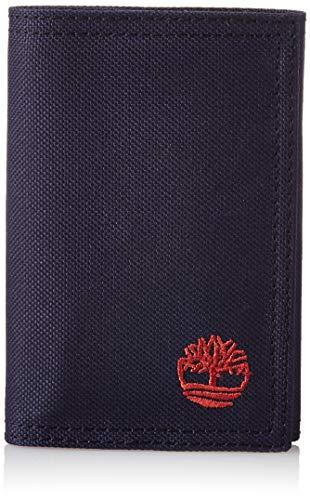 Timberland Carteira masculina de nylon dobrável, Azul marino, tamanho nico
