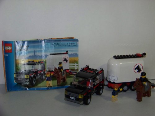Lego City Limited Edition Set #7635 4WD With Horse Trailer by LEGO