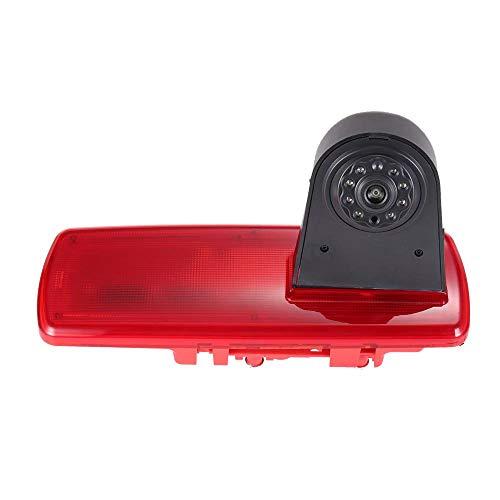 Navinio Telecamera a colori posteriore per telecamera posteriore impermeabile sostituisce la terza luce freno m. Visione notturna per Opel/ Talento/ NV300/ Traffic/ Primastar/ Vauxhall Vivaro/ Trafic